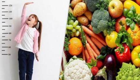 10 loại thực phẩm giúp phát triển chiều cao cho trẻ