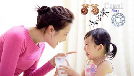 Hướng dẫn bổ sung canxi cho trẻ nhỏ và trẻ sơ sinh đúng cách