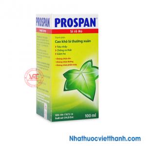 Prospan - Siro điều trị viêm đường hô hấp kèm theo ho (chai 100ml)