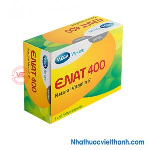 Enat 400 - Điều trị tình  trạng thiếu vitamin E, Bí quyết cho vẻ đẹp rạng ngời tự nhiên