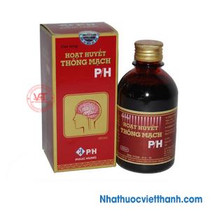 Hoạt huyết thông mạch P/H (Chai 250ml)
