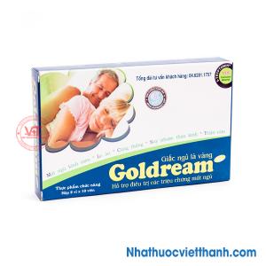Goldream hỗ trợ điều trị bệnh mất ngủ