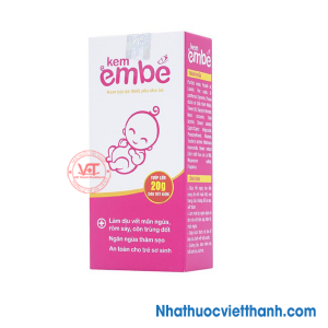 Kem Em Bé ngăn ngừa các vết thâm sẹo, côn trùng, muỗi đốt cho bé (20g)