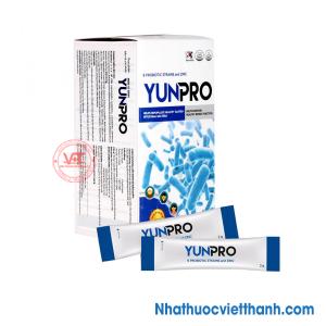 Men vi sinh Yunpro giúp phòng ngừa và điều trị rối loạn tiêu hóa