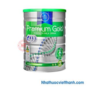 Royal AUSNZ Premium Gold Toddler Milk Drink số 3 900g - Sữa hoàng gia Úc cho trẻ từ 1-3 tuổi