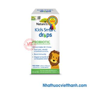 Nature's Way Kids Smart Drops Probiotic - Bổ sung men vi sinh tốt cho hệ tiêu hóa của bé