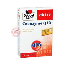 Doppelherz Coenzyme Q10  - Hỗ trợ điều trị suy tim và các bệnh tim mạch