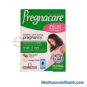 Pregnacare Plus Omega 3 - Vitamin Tổng Hợp Cho Bà Bầu