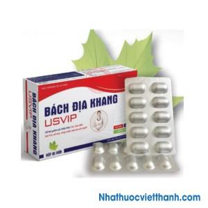 Bách Địa Khang USVIP (Xuyên tâm liên) - Hỗ trợ giảm ho, đau đầu, sổ mũi do cảm lạnh